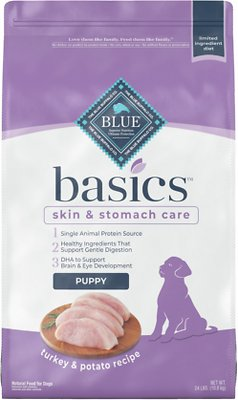 7. Blue Buffalo Basics Limited Ingredient in Turkey & Potato Recipe for Puppies