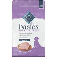 Blue Buffalo Basics Turkey & Potato Recipe Puppy Dry Dog Food, 24-lb bag