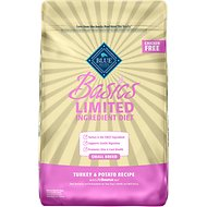 Blue Buffalo Basics Turkey & Potato Recipe Small Breed Adult Dry Dog Food, 11-lb bag