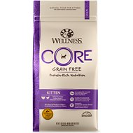Wellness CORE Grain-Free Kitten Formula Dry Cat Food, 2-lb bag