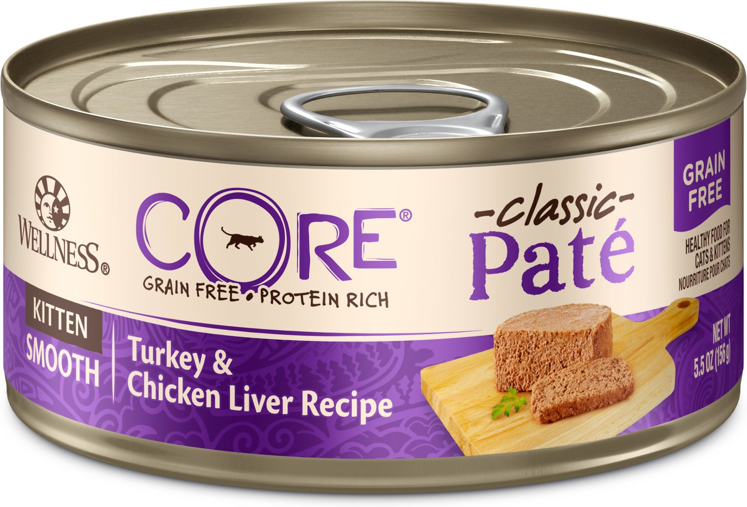 Wellness Core Natural Grain Free Turkey Amp Chicken Liver