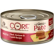 Wellness CORE Grain-Free Beef, Venison & Lamb Formula Canned Cat Food, 5.5-oz, case of 24