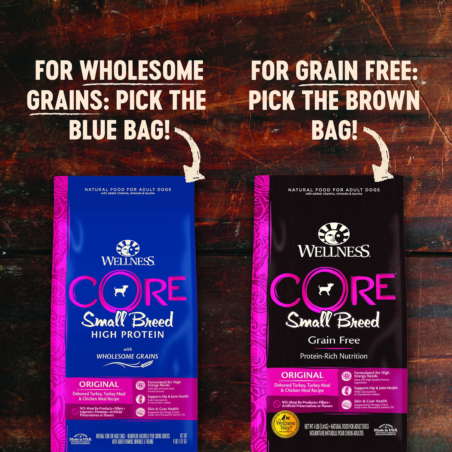 Wellness Core Grain Free Small Breed Turkey Amp Chicken