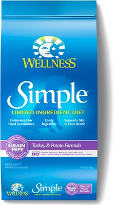 8. Wellness Simple Limited Ingredient Diet Grain-Free Formula