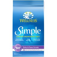 Wellness Simple Limited Ingredient Diet Grain-Free Turkey & Potato Formula Dry Dog Food