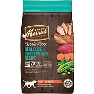 Merrick Grain-Free Real Duck + Sweet Potato Recipe Dry Dog Food, 4-lb bag