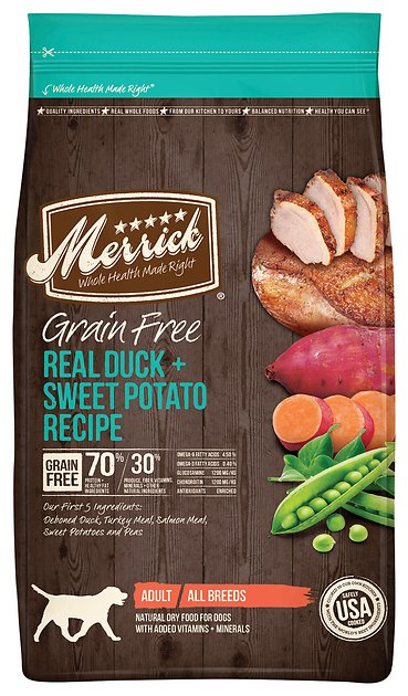 New Merrick Dog Food