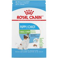 Royal Canin X-Small Puppy Dry Dog Food, 3-lb bag