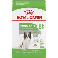 Royal Canin Size Health Nutrition X-Small Mature +8 Dry Dog Food, 2.5-lb bag