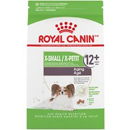 Royal Canin Size Health Nutrition X-Small Aging +12 Dry Dog Food, 2.5-lb bag