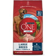 Purina ONE SmartBlend Large Breed Adult Formula Premium Dry Dog Food , 31.1-lb bag