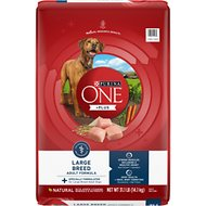 Purina ONE SmartBlend Large Breed Adult Formula Dry Dog Food, 31.1-lb bag