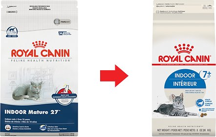 royal canin indoor 7 dry cat food 5 5 lb bag. Black Bedroom Furniture Sets. Home Design Ideas
