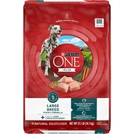 Purina ONE SmartBlend Large Breed Puppy Formula Dry Dog Food, 31.1-lb bag