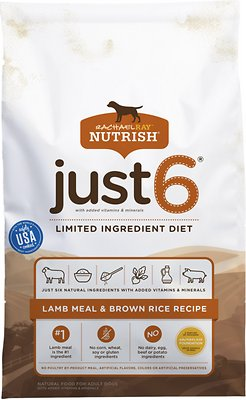1. Rachael Ray Nutrish Just 6 Limited Ingredient Recipe
