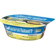 Natural Balance Delectable Delights Catatouille Stew Grain-Free Wet Cat Food, 2.5-oz, case of 12