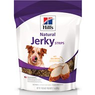 Hill's Natural Jerky Strips with Real Chicken Dog Treats, 7.1-oz bag