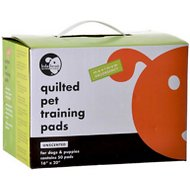 "Lola Bean Pet Pads Quilted Pet Training Pads, Regular 16"" x 20"", Unscented"
