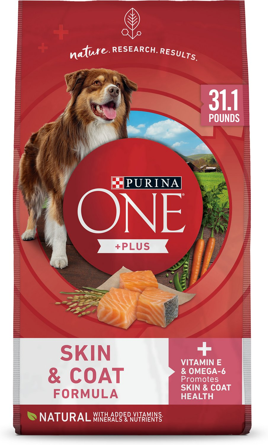 Purina ONE SmartBlend Sensitive Systems Adult Formula Dry Dog Food, 31 1-lb  bag