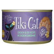 Tiki Cat Koolina Luau Chicken with Egg in Chicken Consomme Grain-Free Canned Cat Food, 6-oz, case of 8
