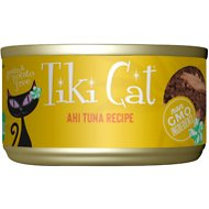 Tiki Cat Hawaiian Grill Ahi Tuna Grain-Free Canned Cat Food, 6-oz, case of 8