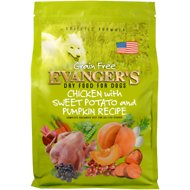 Evanger's Chicken with Sweet Potato & Pumpkin Recipe Grain-Free Dry Dog Food, 16.5-lb bag