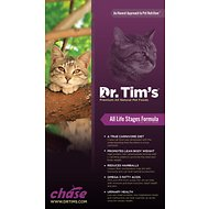 Dr. Tim's Chase All Life Stages Formula Dry Cat Food, 11-lb bag