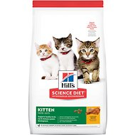 Hill's Science Diet Kitten Healthy Development Chicken Recipe Dry Cat Food, 15.5-lb bag