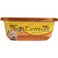 Earthborn Holistic Toby's Turkey Dinner Grain-Free Natural Moist Dog Food, 8-oz, case of 8
