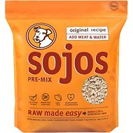 Sojos Pre-Mix Original Recipe Freeze-Dried Dog Food Mix, 25-lb bag