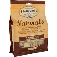 Darford Naturals with Peanut Butter Dog Treats, 14.1-oz bag