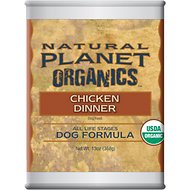 Natural Planet Chicken Dinner Canned Dog Food, 13-oz, case of 12