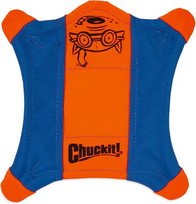 Chuckit! Flying Squirrel Dog Toy, Color Varies