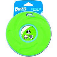 Chuckit! Zipflight Disc Dog Toy, Color Varies, Small