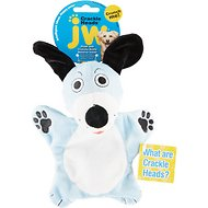 JW Pet Crackle Heads Dougie the Dog Dog Toy, Medium