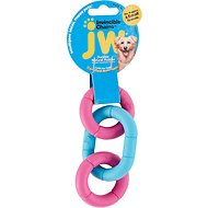 JW Pet Invincible Chains Triple Dog Toy, Color Varies, X-Small