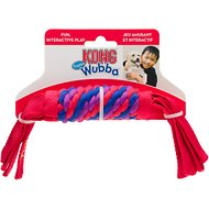KONG Tugga Wubba Dog Toy, Color Varies, Small
