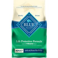 Blue Buffalo Life Protection Formula Adult Lamb & Brown Rice Recipe Dry Dog Food, 6-lb bag