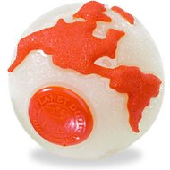 Planet Dog Orbee-Tuff Orbee Ball, Glow/Orange, Medium