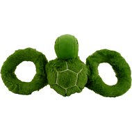Jolly Pets Tug-a-Mals Turtle Dog Toy, Small