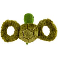 Jolly Pets Tug-a-Mals Turtle Dog Toy, Medium