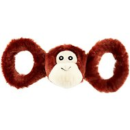 Jolly Pets Tug-a-Mals Monkey Dog Toy, Large