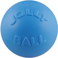 Jolly Pets Bounce-n-Play Dog Toy, Blueberry, 4.5-in
