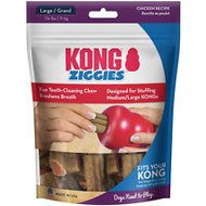 KONG Stuff'N Ziggies Dog Treats, 8-oz bag
