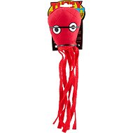 Tuffy's Jr. Squid Dog Toy, Red