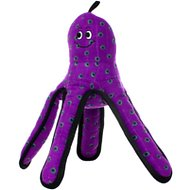 Tuffy's Ocean Creatures Purple Pete Dog Toy