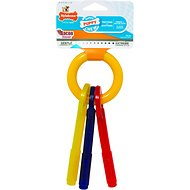 Nylabone Puppy Chew Teething Keys Dog Toy, Small