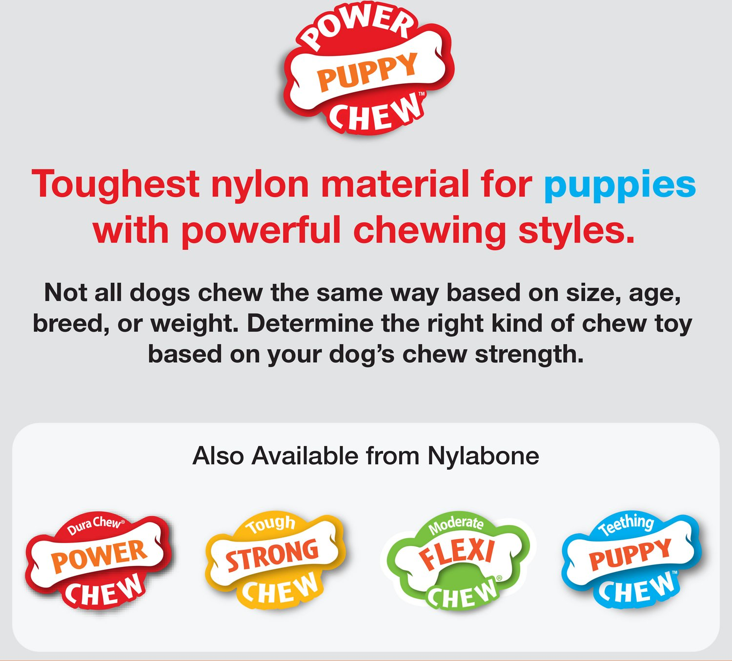 Nylabone Puppy Chew Teething Rings Dog Toy Chewycom