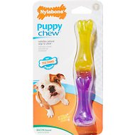 Nylabone Puppy Chew Stix Bacon Flavor Dog Toy, Small