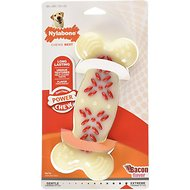 Nylabone DuraChew Action Ridges Bacon Flavor Bone Dog Toy, X-Large